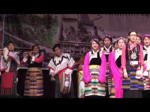 TIBETAN LOSAR PARIS  2016  - part 1