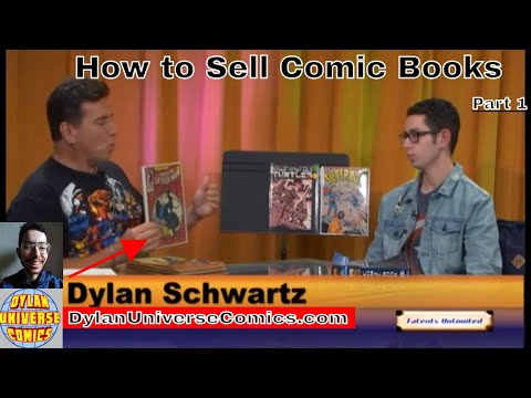 How to Sell Comic Books-Dylan Universe Comics Interview Part 1
