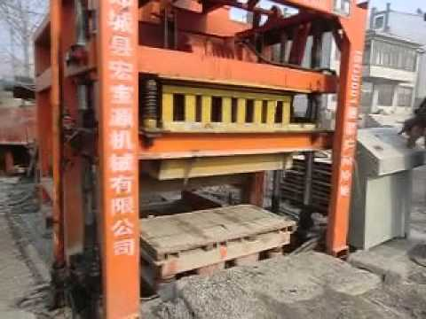 QTJ4 26C Hollow block making machine production field