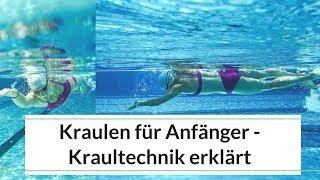 Kraulen für Anfänger / Schwimmtraining - Kraultechnik lernen