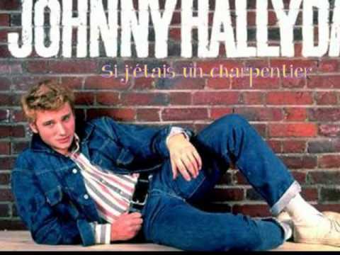 Si j'étais un charpentier Johnny Hallyday bande son cd.wmv