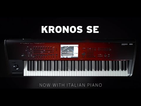 KORG KRONOS SE - Loaded with the new Italian Grand Piano and KApro Showcase
