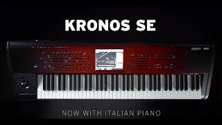 KORG KRONOS SE - Loaded with the new Italian Grand Piano and KApro Showcase.