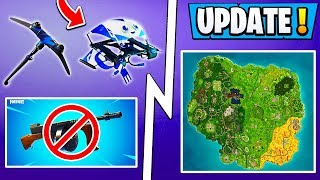 *NEW* Fortnite Update! | Season 6 Halloween, Exclusive Pack, RIP Drum Gun!