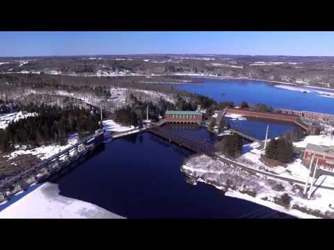 La Cité de l'Énergie de Shawinigan, Quebec, Canada
