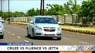 2012 Chevrolet Cruze Vs Renault Fluence Vs Volkswagen Jetta   Comparison Test   Autocar India