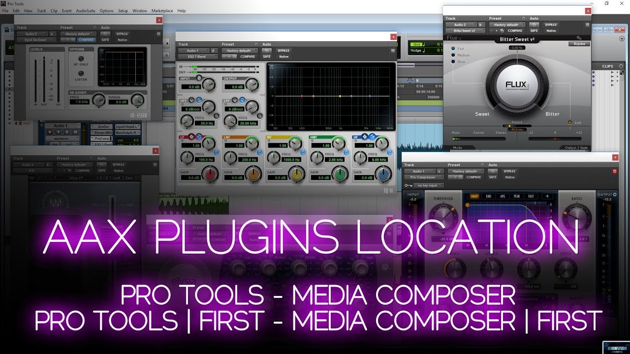 WHERE AAX PLUGINS ARE INSTALLED | PRO TOOLS, MEDIA COMPOSER, AND FIRST