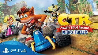 Crash Team Racing Nitro-Fueled | Reveal Trailer | PS4