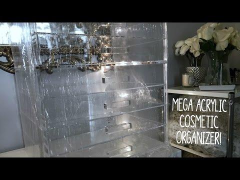 Mega Acrylic Cosmetic Organizer | January 2017