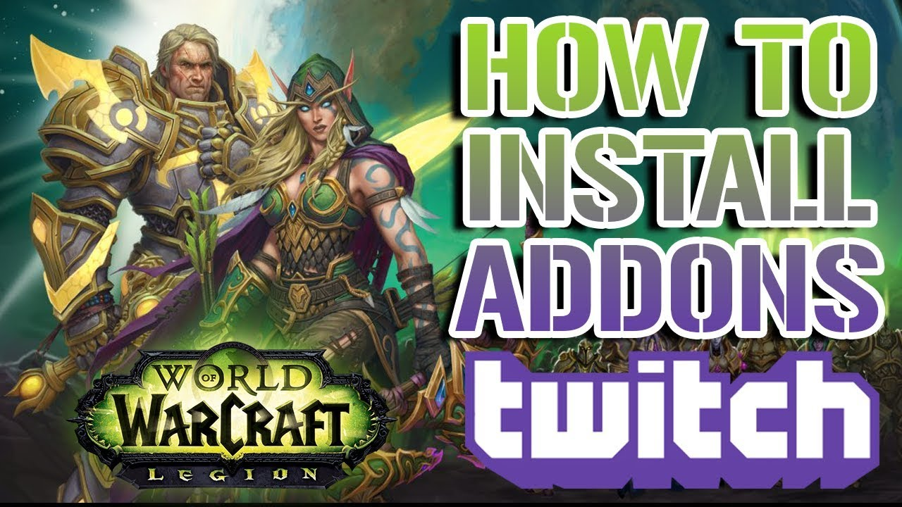 WOW TÉLÉCHARGER TWITCH ADDON