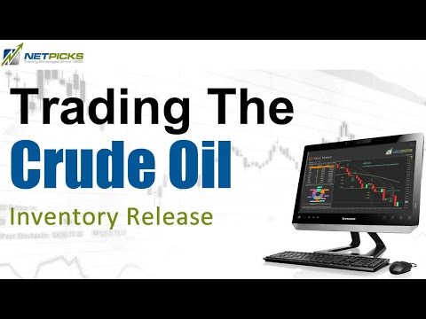 Trading the Crude Oil Inventory Release