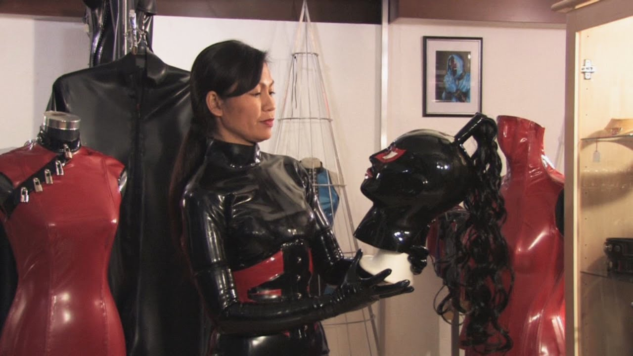 Girl Corset Wallpaper Elasia Fully Covered With Her Latex Catsuit Youtube