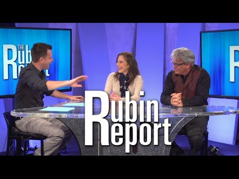 Dave Rubin with Ana Kasparian & Dylan Brody on The Rubin Report