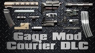 [Payday 2] Gage Mod Courier DLC (Mod Demonstration)