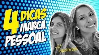 💙 4 DICAS para CONSTRUIR SUA MARCA PESSOAL na INTERNET com Jaqueline Gatti  | Luana Franco