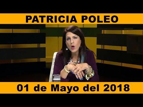 Patricia Poleo 01 05 2018 con Nitu Pérez Osuna, Carlos Ortega e Iván Freites