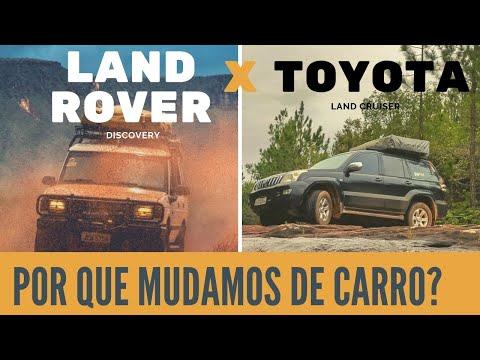 A Batalha Das Lands -  Land Rover Discovery Vs Land Cruiser Prado Toyota