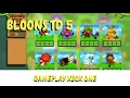 Bloons TD 5 Xbox one gameplay strategy guide