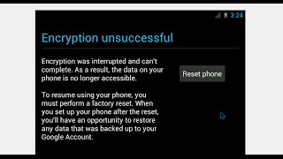 This is How to Fix Android ERROR : Encryption Unsuccessful - BRICKED SAMSUNG PHONES ONLY