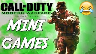 MODERN WARFARE REMASTERED SNIPERS VS RUNNERS (BORDER PATROL) COD MWR FUNNY MOMENTS