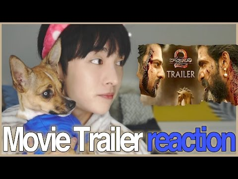 A Korean dog react to Baahubali 2 - THE CONCLUSION TRAILER