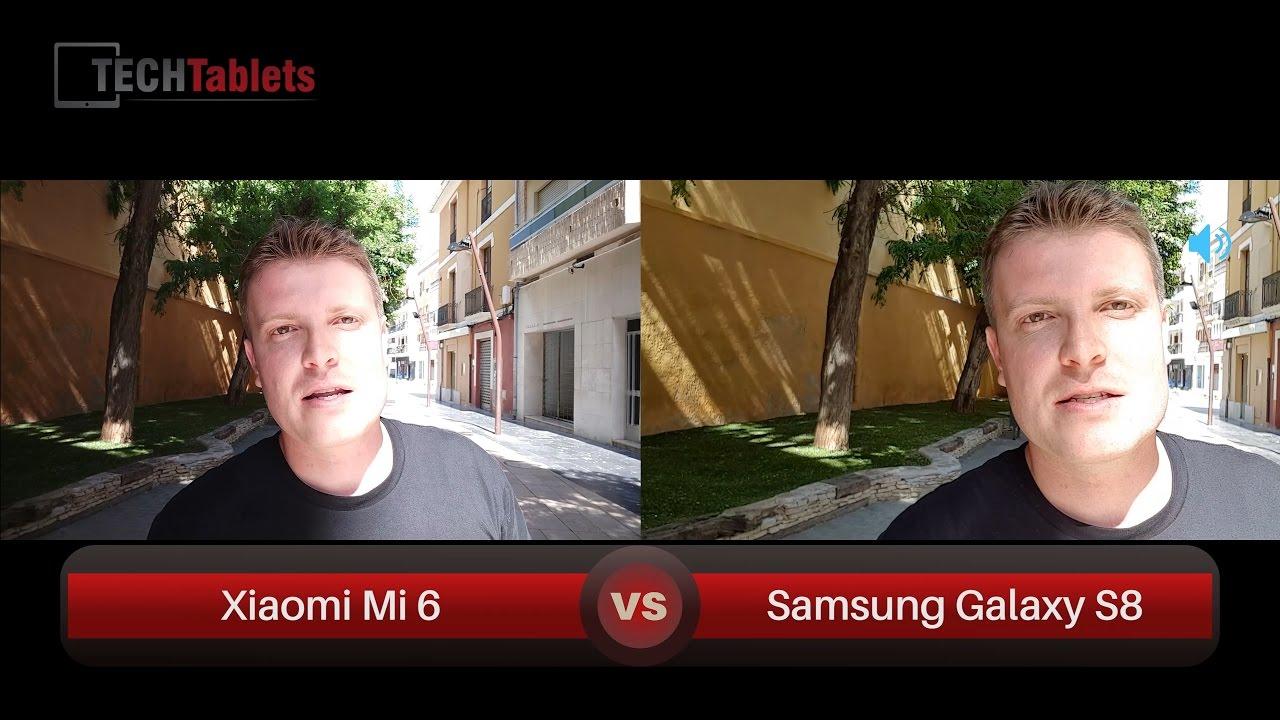 Xiaomi Mi 6 Vs Samsung Galaxy S8 Camera Comparison 4k