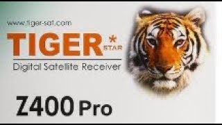 طريقة تشغيل IPTV مجاني USB على جهاز  How to Play Free IPTV USB on Tiger Z400 PRO