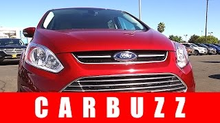 2017 Ford C-Max Hybrid Unboxing - Better Than The Toyota Prius?