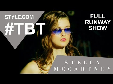 Stella McCartney's First Chloé Collection-Spring 1998 Full Runway Show-#TBT w/Tim Blanks