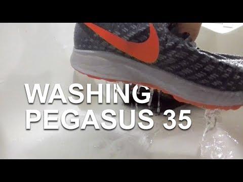 Washing Running Shoes - Nike Pegasus 35