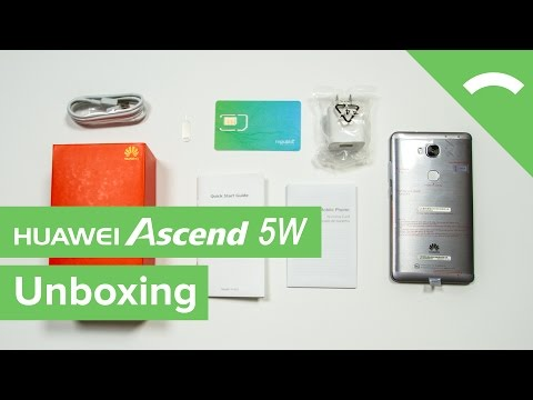 Unboxing The Huawei Ascend 5W - YT