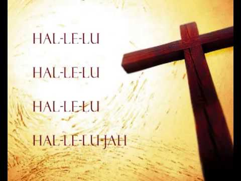 Hallelu, Hallelu, Hallelu, Hallelujah, Praise ye the Lord (children singing) with lyrics