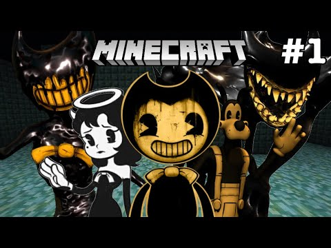 Minecraft PE: BENDY & BORIS HAVE A SCARY DREAM! (BATIM Minecraft Chronicles #1) thumbnail