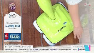 [홈앤쇼핑] 오토비스 무선형 물걸레청소기 [극세사걸레6…