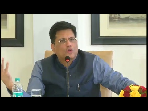 Spekaing at a Press Conference on Vision for New Railway - New India 2022, in New Delhi