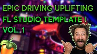 Driving Uplifting Trance FL Studio and Ableton Poject, Template Vol 1.