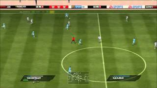 Fifa 11 gameplay (Napoli vs Arles Avigon) + (download link in description)