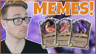 Hearthstone | Don't Let Your MEMES Be DREAMS | Wild Astral Big Druid | Saviors of Uldum