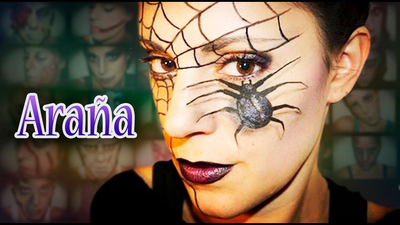 Maquillaje carnaval 2 Araña, Fantasía 2