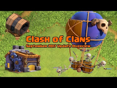 Clash Of Clans Update: September 2017 Update Overview