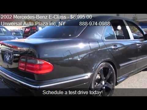 2002 mercedes benz e class e55 amg 4dr sedan for sale in lon youtube. Black Bedroom Furniture Sets. Home Design Ideas