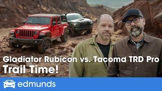 2020 Jeep Gladiator Rubicon vs. 2020 Toyota Tacoma TRD Pro ― Off-Road Truck Comparison Test