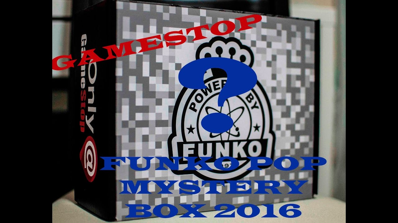 Funko Pop Unboxing Gamestop Black Friday Mystery Box 2016