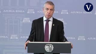 Urkullu pide al Gobierno que declare el estado de alarma a nivel nacional