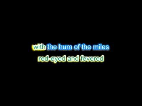 Big Log    Karaoke in the style of Robert Plant