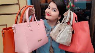 Caprese lino perros lavie handbag haul | branded handbag review for everyday use |RARA lifestyle |