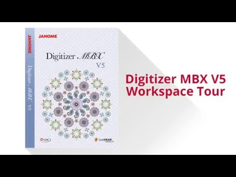 New Janome Digitizer MBX v5 Software | Temecula Valley Sewing Center