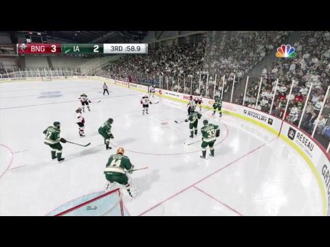 LGAHL  Wild vs Senators