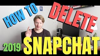 How To Delete Snapchat Account Permanently On Android Or IPhone 2019