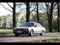 Brutal BMW E23 745i sound. Epic revving